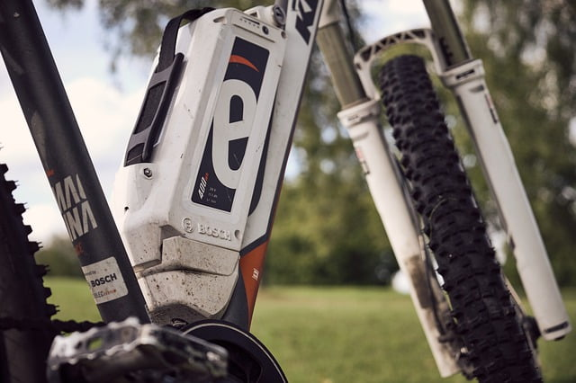 batterie vélo électrique blanc