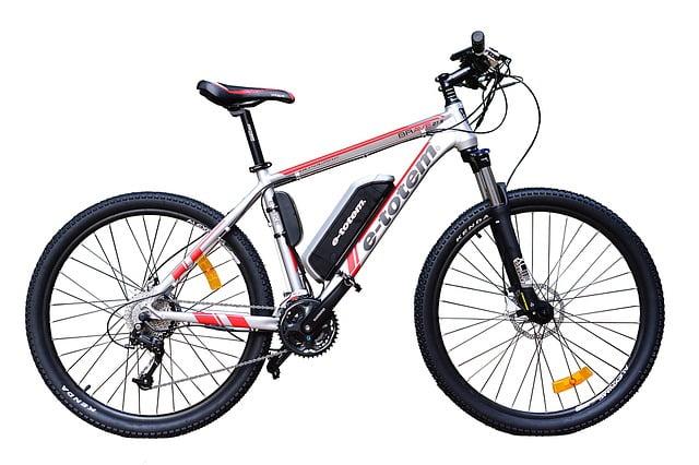 vélo électrique blanc