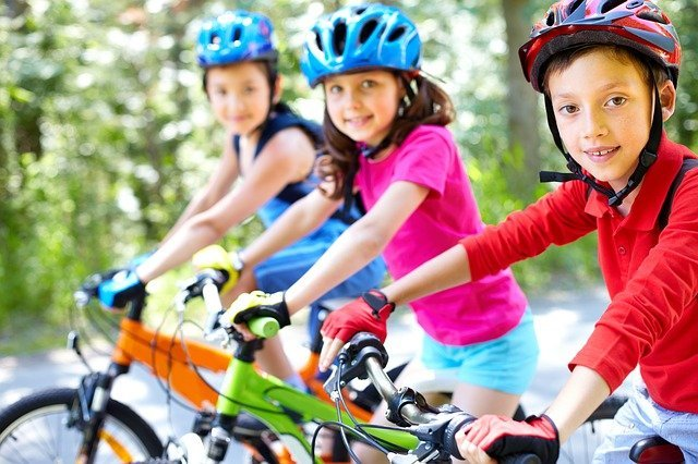 velo électrique enfant pour trois enfants