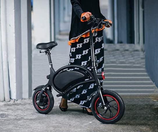 mini vélo électrique noir