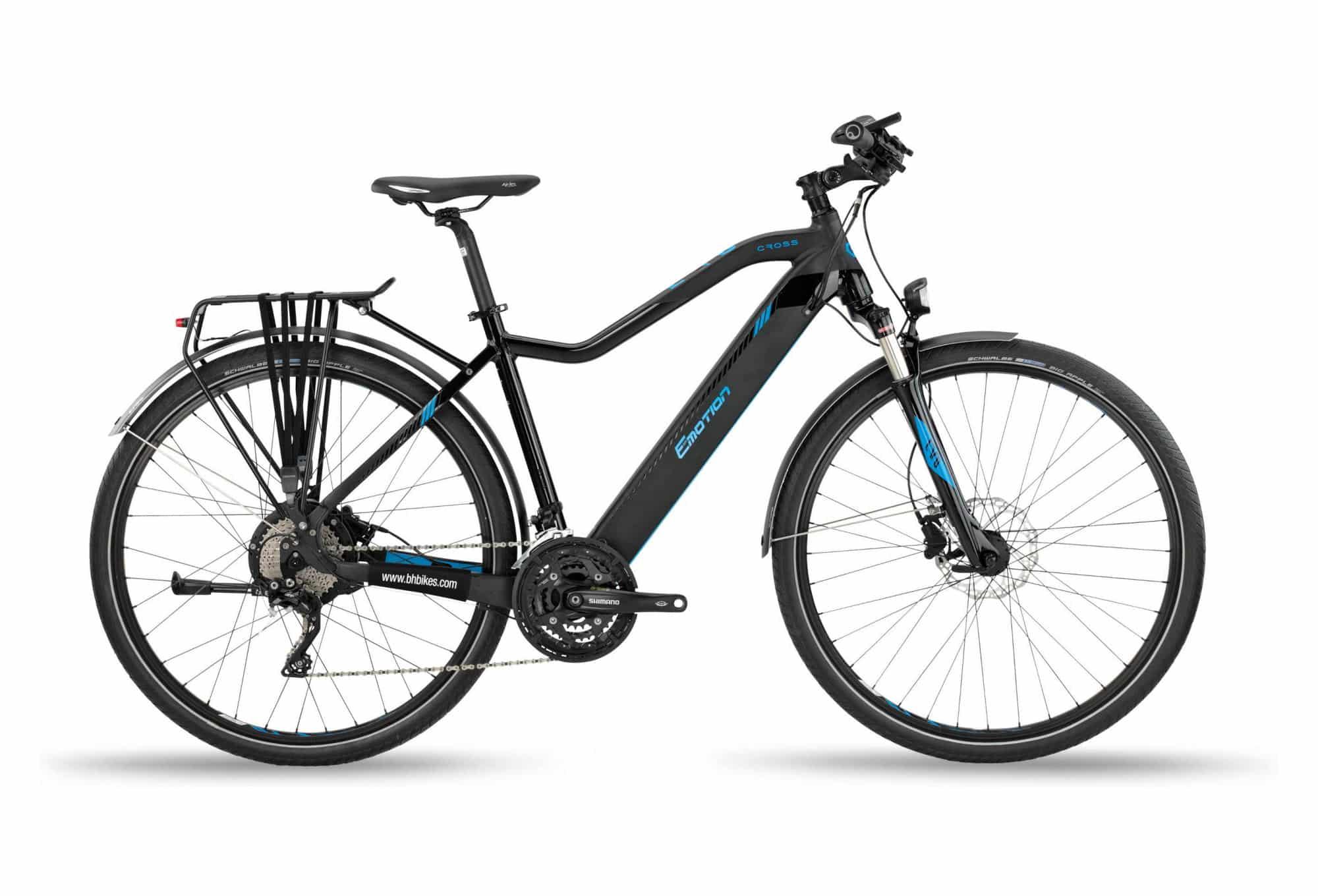 Vélo de ville électrique BH EVO CROSS Noir 2020