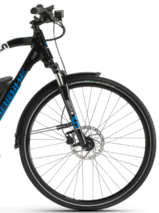 roue avant du Haibike Sduro Trekking 3.0 Shimano deore 10V