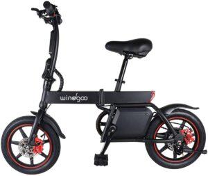 """Vélo Electrique Pliant 12"""" City E-Bike"""