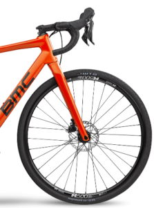 roue et guidon avant BMC Alpenchallenge APM Road Two Shimano GRX orange
