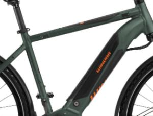 cadre vélo électrique Winora Yucatan I9 Men Shimano Alivio/Altus 9V 500 Wh 700 mm