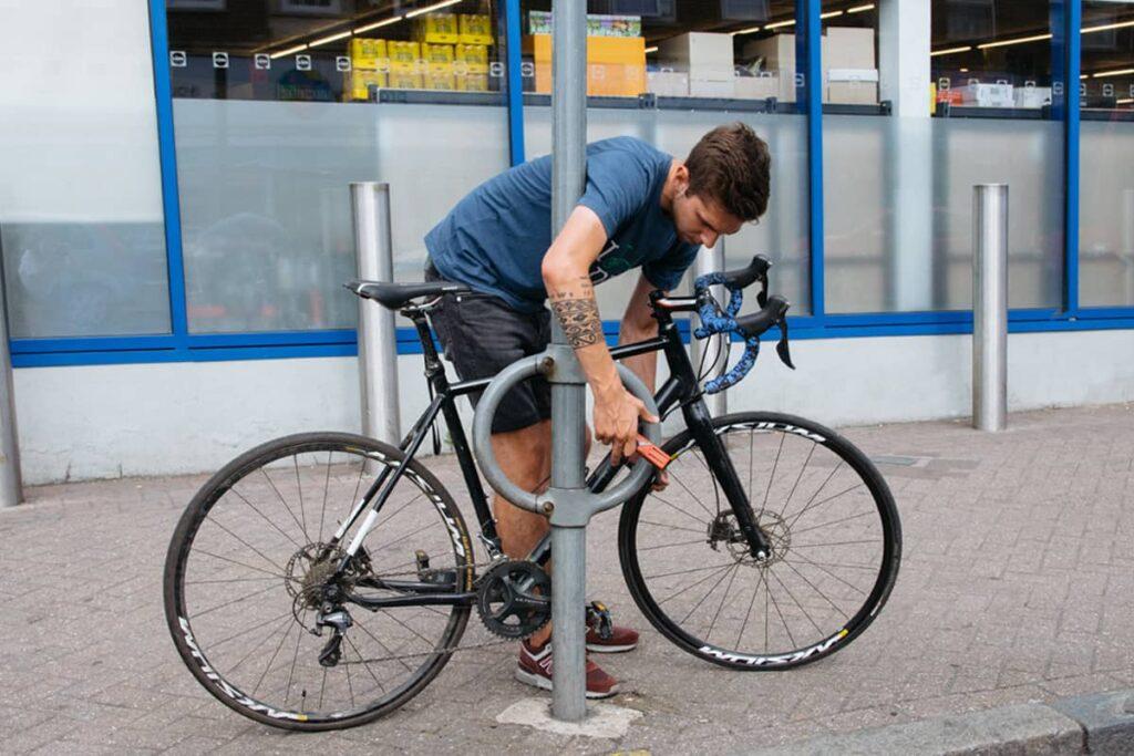 Un endroit sûr pour ranger votre vélo
