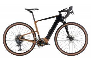 vélo de route electrique CANNONDALE TOPSTONE NEO CARBON LEFTY