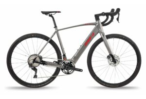 Vélo de route électrique BH CORE GRAVELX 2.4 SHIMANO GRX 11V GRIS