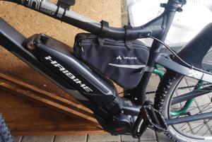 Sacoche vélo sur cadre