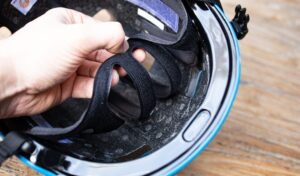 casque velo electrique tampons