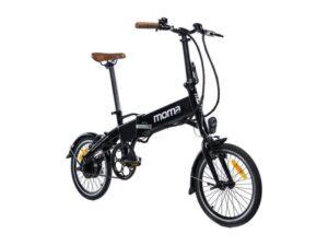 Draisienne électrique moma bikes 16 teen noir
