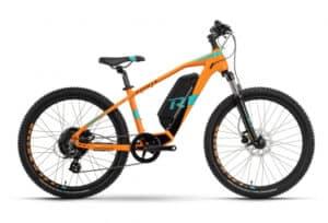 velo electrique enfant R raymon Fourray E 1.0 Orange pour les 8 à 10 ans