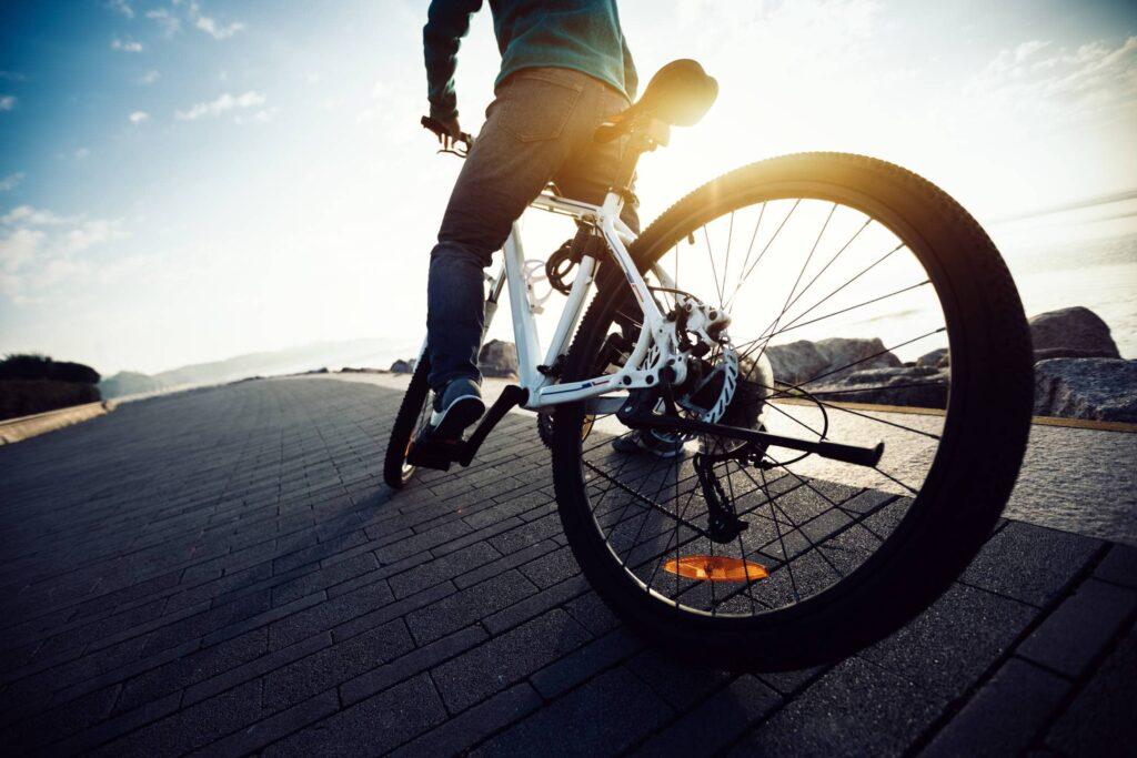 Le moteur sur la roue arrière du vélo électrique : pour plus de sensation