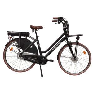 """Vélo de ville électrique WAYSCRAL Everyway Carrier 28"""" Noir"""