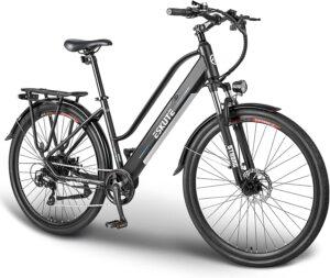 """ESKUTE 28""""Vélo Electrique Vélo à Assistance Electrique 250W Vélo de Ville"""
