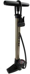 P4B| Pompe à Pied avec manomètre - Pompe à vélo pour Toutes Les valves