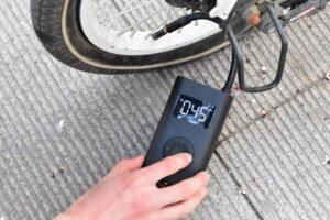 Pompe à vélo électrique