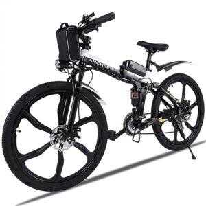 Vélo de Montagne électrique ANCHEER, vélos pliants électriques pour Adultes